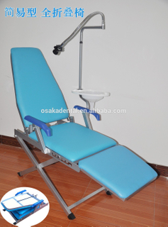 Modelo simple Silla dental portátil plegable fácil osakadental